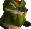 Serpentine helm (uncharged) chathead