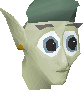 Cave goblin (Green hat) chathead