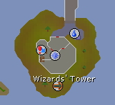 Wizards' Tower map