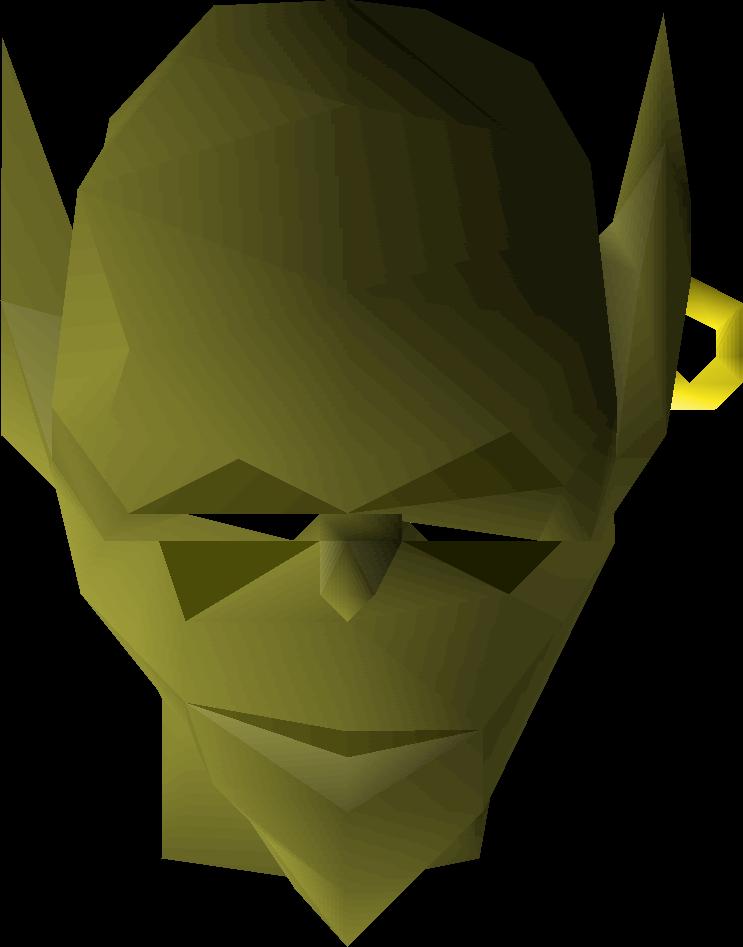 Goblin mask | Old School RuneScape Wiki | FANDOM powered by