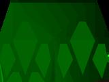 Green d'hide chaps