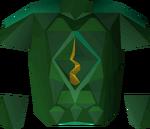 Guthix dragonhide detail