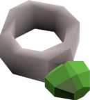 Jade ring detail