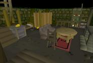 Slepe house basement