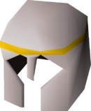White med helm detail