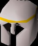 White med helm detail