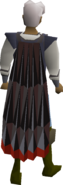 Obsidian cape equipped