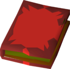 Fossil island note book detail