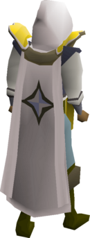 Prayer cape equipped