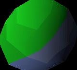 Coloured ball detail