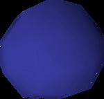 Stone ball (blue) detail