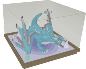 Vorkath display