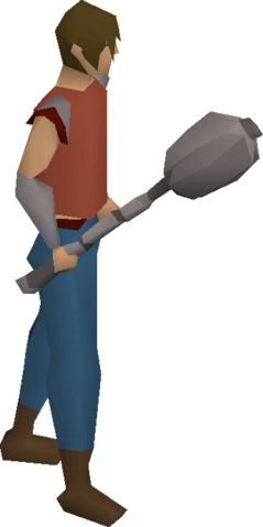 File:Ancient mace equipped.png
