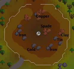Rimmington mine map