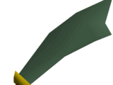 Adamant scimitar
