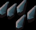Rune arrowtips detail