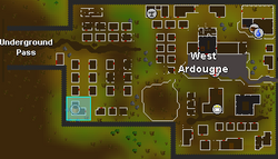 West Ardougne General Store location