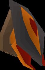 Abyssal demon head (mounted) built
