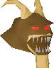 Chocolate demon chathead