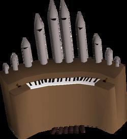 Organ built
