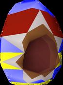 Easter egg helm detail