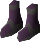 Boots of darkness detail