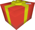 Giant present detail