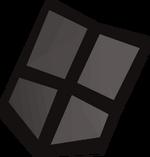 Iron kiteshield (t) detail
