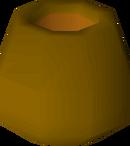 Unfired pot detail