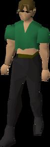 Ragged top (female)