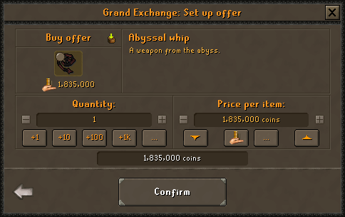 The Grand Exchange (1)