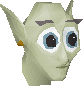 Cave goblin (Blue hood) chathead