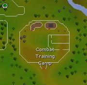 Combat Training Camp map