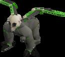 Demonic gorilla