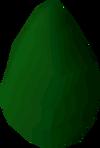 Green egg detail