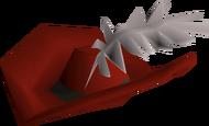 Musketeer hat detail