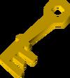 Tarnished key detail