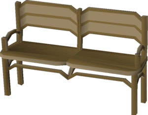 Teak garden bench built