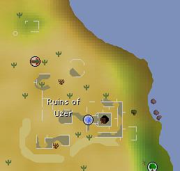 Uzer map
