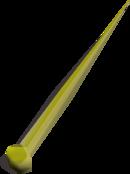Golden needle detail