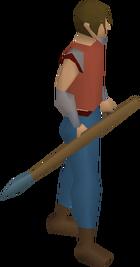 Rune javelin equipped