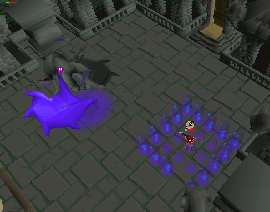Grotesque Guardians Guide In order to access the roof, players must obtain a brittle key from gargoyles while assigned them for a slayer task. grotesque guardians guide