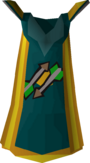 Fletching cape (t) detail