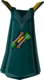 Fletching cape detail