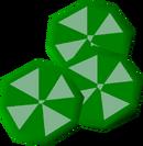 Lime slices detail
