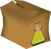 Olive oil pack detail
