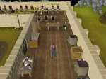 Emote clue - salute mess hall