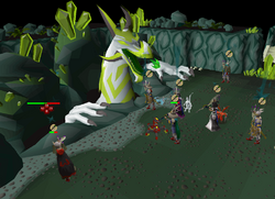 Fighting Great Olm