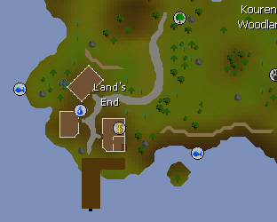 Land's End map