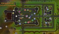 Kourend Castle map